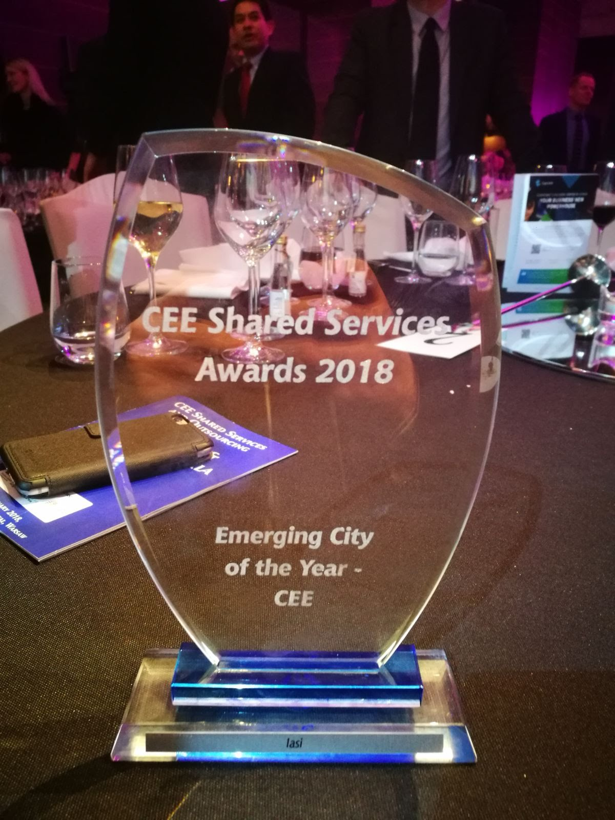 CEE Shared Services and Outsourcing Awards Varsovia Premiu Iasi Emerging City 7